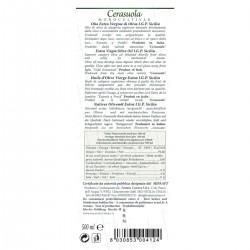 Extra Virgin Olive Oil Gran Cru Cerasuola - Cutrera - 500ml