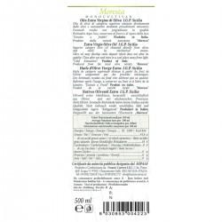 Extra Virgin Olive Oil Gran Cru Moresca - Cutrera - 500ml