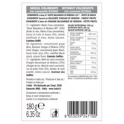 Balsamic Vinegar Berries Cream - I Solai - 180gr