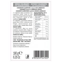 Gourmet Lambrusco Cream - I Solai - 180gr