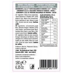 Balsamic Vinegar Cacao Cream - I Solai - 180gr