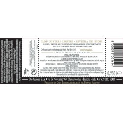 Extra Virgin Olive Oil PDO Riviera Ligure Cultivar Taggiasca - Anfosso - 750ml