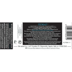 Extra Virgin Olive Oil TUMAI Monocultivar Taggiasca - Anfosso - 750ml
