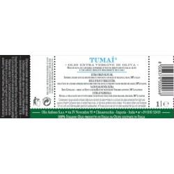 Extra Virgin Olive Oil 100% Italiano TUMAI - Anfosso - 1l