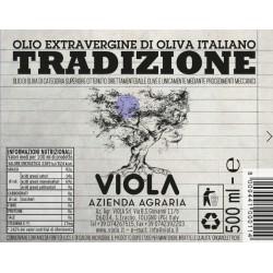Extra Virgin Olive Oil Tradizione - Viola - 500ml