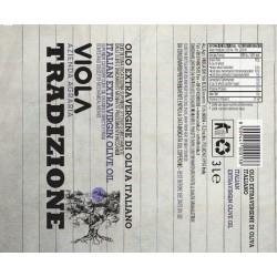 Extra Virgin Olive Oil Tradizione can - Viola - 3l
