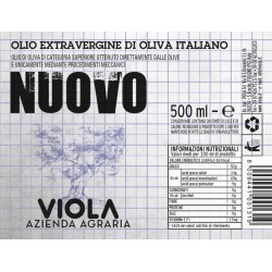 Extra Virgin Olive Oil Nuovo - Viola - 500ml