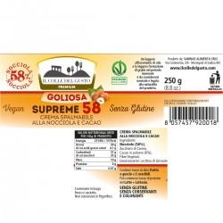 Supreme 58% Hazelnuts (Nocciole) - Il Colle del Gusto - 250g
