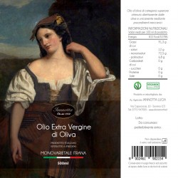 Extra Virgin Olive Oil monovarietale Itrana - Iannotta - 500ml