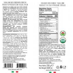 Organic Tarallini - De Carlo - 250gr
