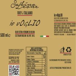 Extra Virgin Olive Oil Io vOgLIO - Sabino Leone - 500ml