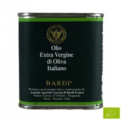 Extra Virgin Olive Oil can - Bardi Carraia - 100ml