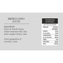 Black Summer Truffle in slices - Pagnani Tartufi - 50gr
