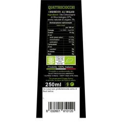 Extra Virgin Olive Oil Oregano Aromatized Organic - Quattrociocchi - 250ml