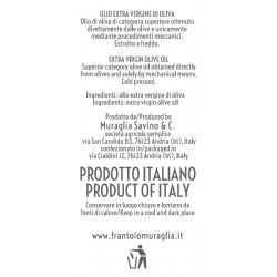 Extra Virgin Olive Oil Coolors Titanium - Muraglia - 500ml