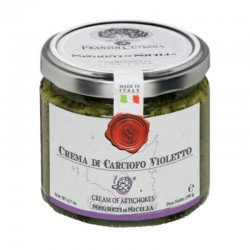 Cream of Violetto Artichokes - Cutrera - 190gr