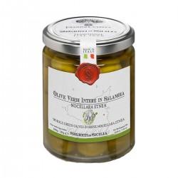 Green Olives in brine Nocellara Etnea - Cutrera - 290gr