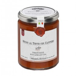Tomato Sauce with Capers and Tuna - Cutrera - 290gr