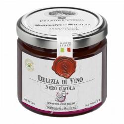 Nero D'Avola Wine Deli Gelatin - Cutrera - 225gr