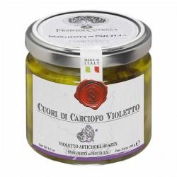 Violetto Artichoke Hearts - Cutrera - 190gr