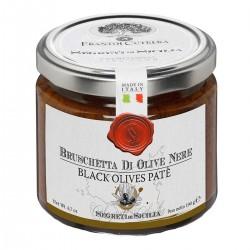Tonda Iblea Black Olives Patè - Cutrera - 190gr