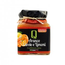Oranges, carrots and lemons Jam - Quattrociocchi - 350gr