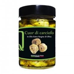 Heart of Artichoke in extra virgin olive oil - Quattrociocchi - 320gr