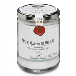 Sicilian Natural Coarse Sea Salt - Cutrera - 300gr