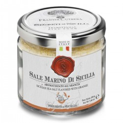 Sicilian Sea Salt flavored with Orange - Cutrera - 200gr