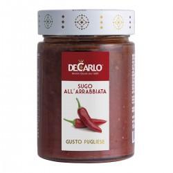 Spycy Tomato Sauce All'Arrabbiata - De Carlo - 300gr