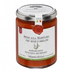 Marinara Sauce with Garlic and Oregano - Cutrera - 290gr