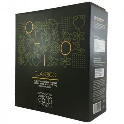 Extra Virgin Olive Oil Classic Bag in Box - Colli Etruschi - 5l