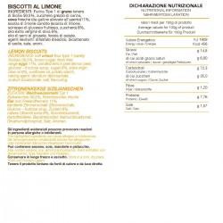 Lemon Biscuits - Tumminello - 210gr