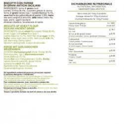 Tumminia and Mallorca Biscuits - Tumminello - 210gr