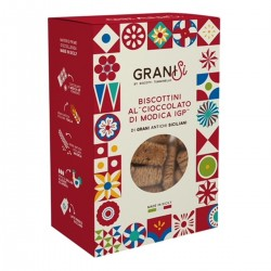 Modica IGP Chocolate Biscuits - Tumminello - 210gr