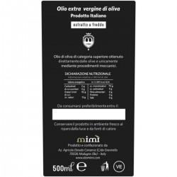 Extra Virgin Olive Oil Ogliarola - Mimì - 500ml