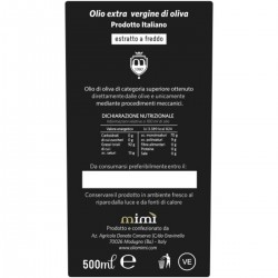 Extra Virgin Olive Oil Coratina - Mimì - 500ml