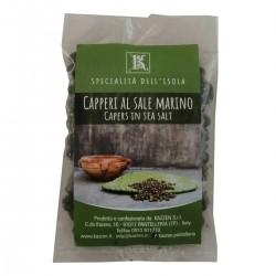 Bag of Capers in salt - Oro di Pantelleria Kazzen - 100gr