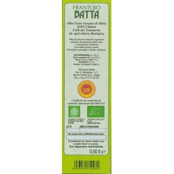 Extra Virgin Olive Oil Organic DOP Umbria Colli del Trasimeno - Batta - 500ml