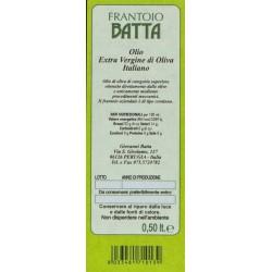 Extra Virgin Olive Oil Italiano - Batta - 500ml