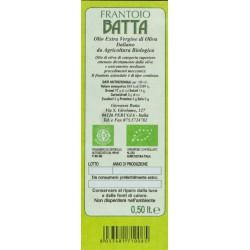 Extra Virgin Olive Oil Organic - Batta - 500ml