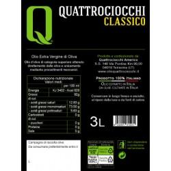 Extra Virgin Olive Oil Classico can - Quattrociocchi - 3l