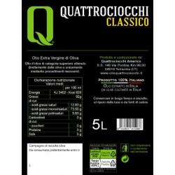 Extra Virgin Olive Oil Classico can - Quattrociocchi - 5l