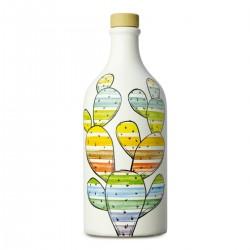 Extra Virgin Olive Oil Prickly Pear Ceramic Jar coratina - Muraglia - 500ml
