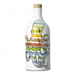 Extra Virgin Olive Oil Octopuses Ceramic Jar coratina - Muraglia - 500ml