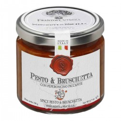 Arrabbiata Spicy Pesto and Bruschetta - Cutrera - 190gr