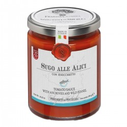Tomato Sauce with Anchovies - Cutrera - 290gr