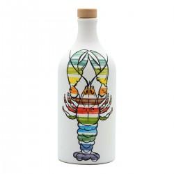 Extra Virgin Olive Oil Lobster Ceramic Jar peranzana - Muraglia - 500ml