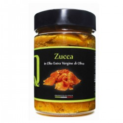 Pumpkin in extra virgin olive oil - Quattrociocchi - 320gr