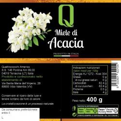 Acacia Honey - Quattrociocchi - 400gr